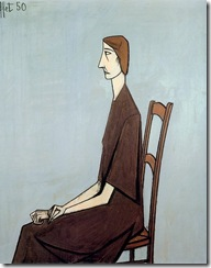 Femme assise - 1950
