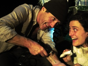 Crazy in Love - Andrew Buckland as Dad & Liez de Kock as Ginny Tattoo Colour